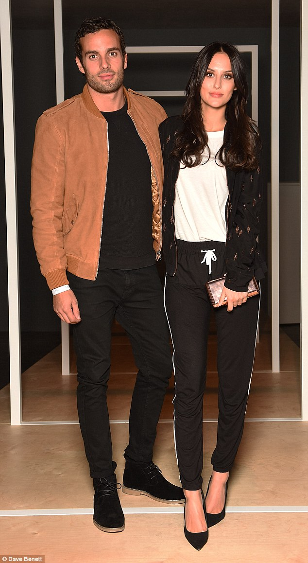 Togetherness:Lucy Watson and boyfriend James Dunmore showed their faces at the Google launch event of Pixel on Tuesday night; their first public appearance since announcing their decision to leave Made In Chelsea