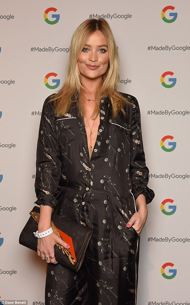 Ready for bed? Laura Whitmore made a bold fashion move in a pyjama style jumpsuit