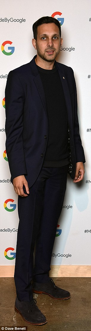 Suited; Dynamo wore a slick suit