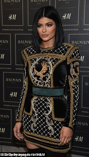 Balmania: Chloe nailed some of Kylie's most iconic looks, including her mini dress from the coveted Balmain X H&M range