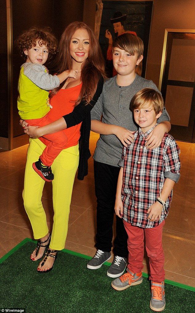 Beloved:Natasha is mother to Josh, 14, Harry, 11, Alfie, six, and two-year-old Ella, all with different partners, having recently split from Ella's father Ritchie Neville