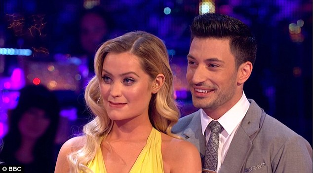 A successful week on Strictly: Laura performed a delightful Waltz with dance partner Giovanni Pernice on Strictly Come Dancing this weekend