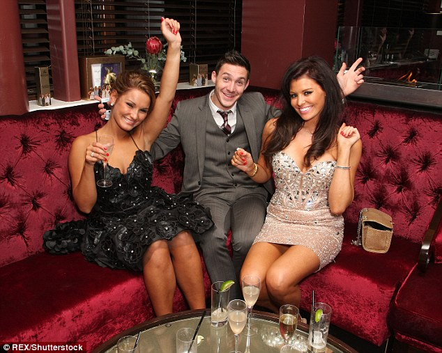 Way back when: Sam first soared to fame on The Only Way Is Essex in its 2010 inauguration, where she threw herself wholeheartedly into the dramatic storylines and glamorous party ethos of the show (pictured with co-stars Kirk Norcross and Jessica Wright)
