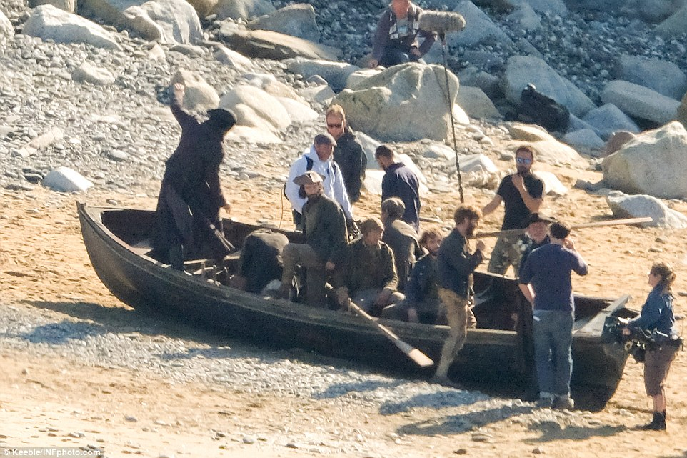 Beached: Thankfully the crew and Captain Ross made their way back to the Cornish coast in one piece