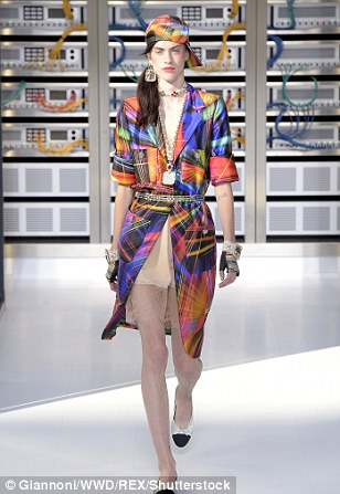 It was all things bright and beautiful on Karl's catwalk on Tuesday
