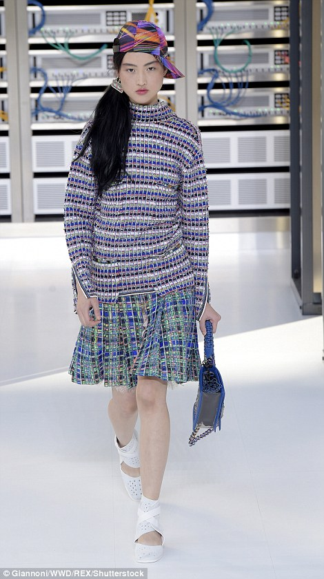 Many speculated that Kendall Jenner - who is a close pal of Karl and has starred in his campaigns - would walk in the show