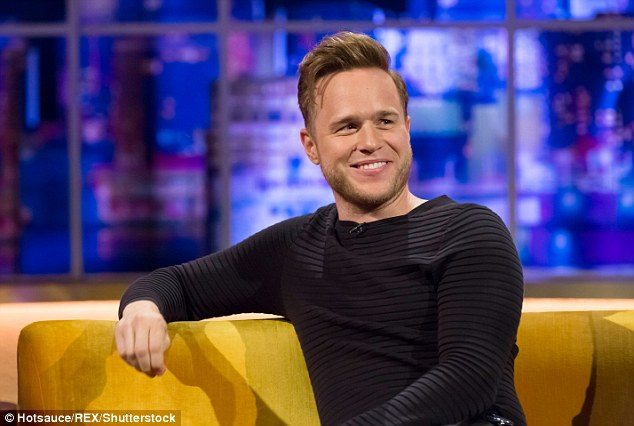 Making music: Olly's new single Grow Up will be released on Friday, along with the pre-order of his new album