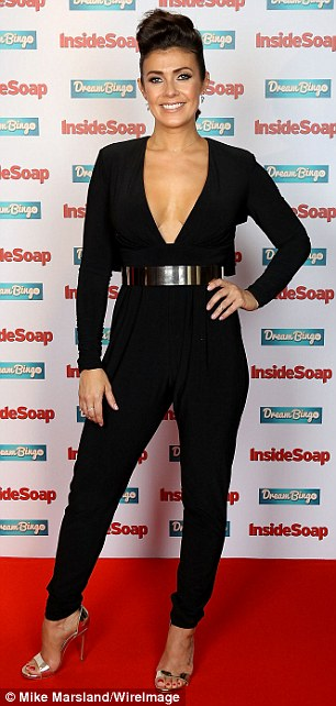 Kym Marsh andFaye Brookes offered a rather buxom display when they attended the Inside Soap Awards on Monday