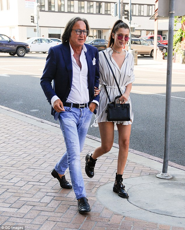 Runs in the family: He has two other kids — Bella and Anwar — with his ex Yolanda