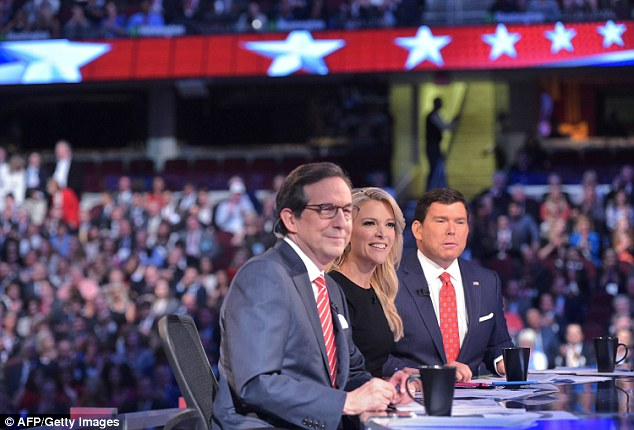 Kelly spoke on air about Trump's aides writing his tweets – but Trump shot back that campaign manager Kellyanne Conway was in the crowd at the vice presidential debate