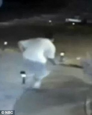 Surveillance video (pictured) of one of the cat abductions coupled with many resident tips to police led to Farmer's arrest