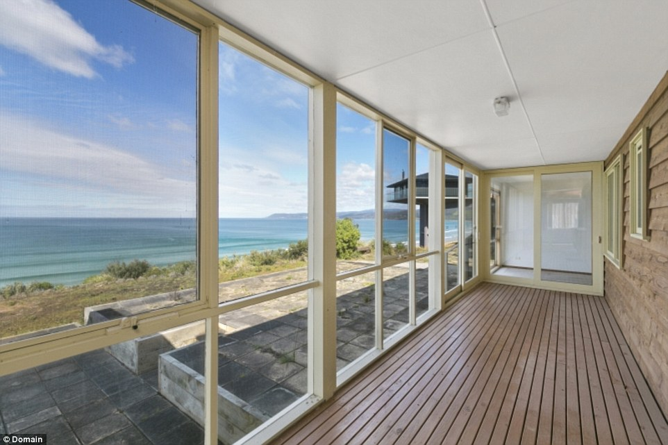 The home has stunning ocean views and is within walking distance from the beach