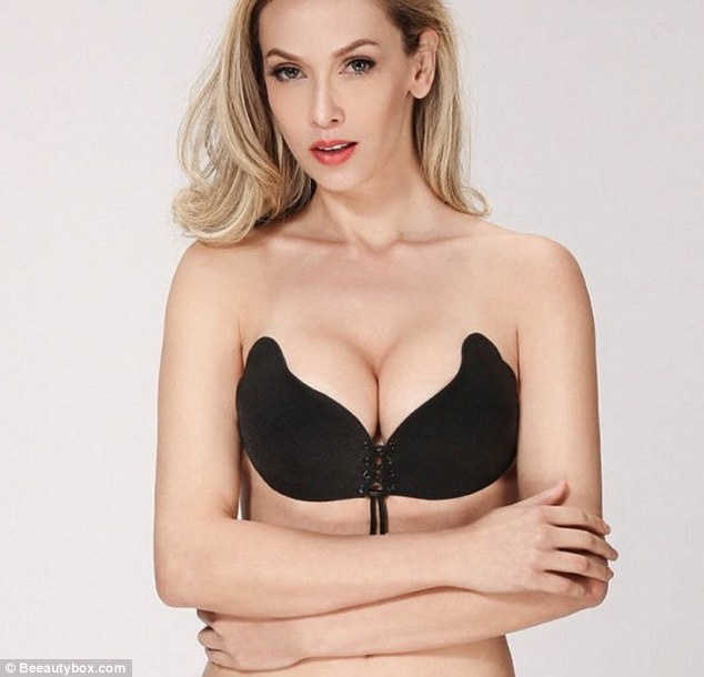 Magic! A new bra promises an 'instant boob job' without any straps or back