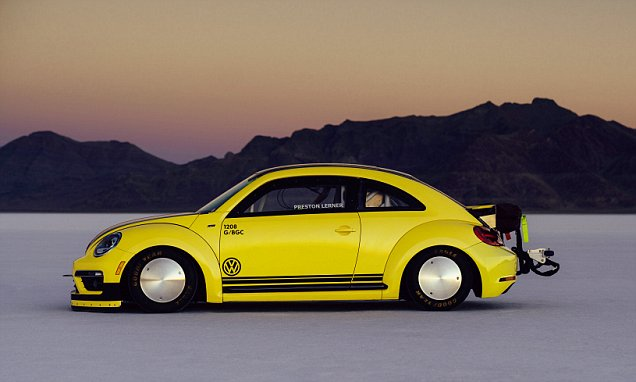 VW turns a Beetle into a one-off 205mph rocket ship