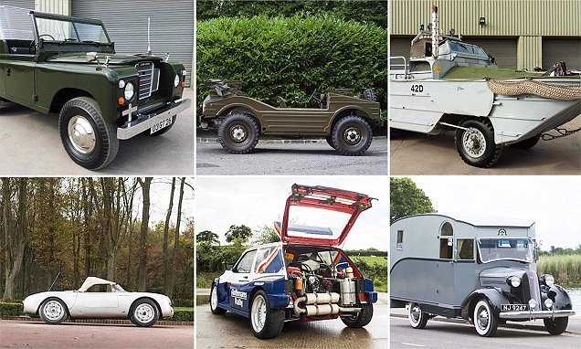 The 10 best vehicles sold at the Goodwood Revival auction