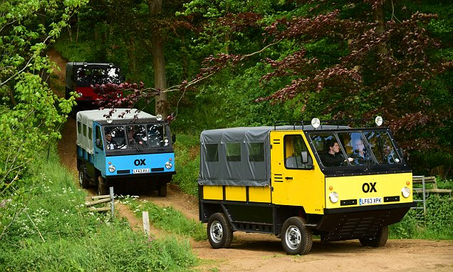 Meet the OX: World's first flatpack vehicle can be built in 12 hours