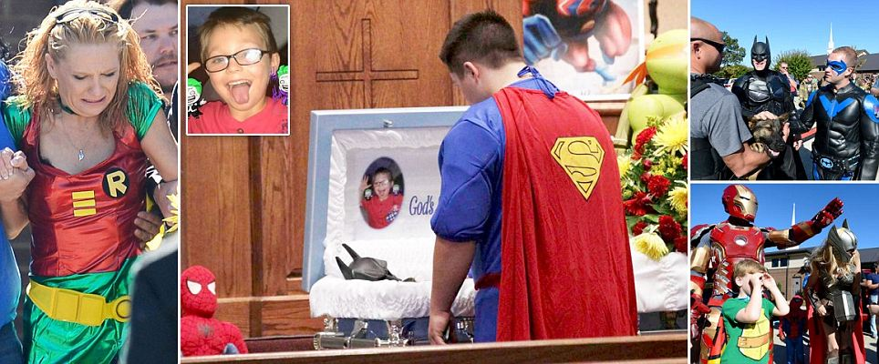 Superhero funeral to honor 6-year-old fatally shot at school