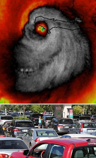 Skull-shaped Matthew kills 11 in the Caribbean and bears down on the East Coast
