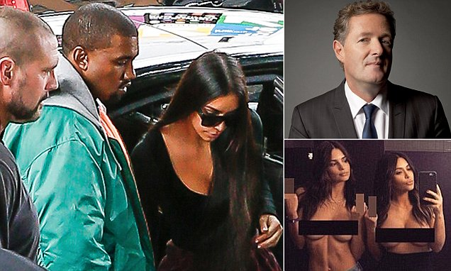 PIERS MORGAN: That robbery was a wake-up call Kim. Time to decide if you want to be the
