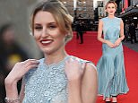 LONDON, ENGLAND 5TH OCTOBER 2016:  Laura Carmichael at the premiere of 'A United Kingdom', at the Opening Night Gala of the 60th BFI London Film Festival,at the Odeon Leicester Square in London, England on the 5th October 2016. \nPhoto by Joanne Davidson/SilverHub 0203 174 1069/ 07711972644 - Editors@silverhubmedia.com