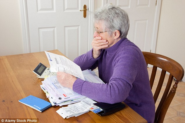 More than half of people who have taken money out under pension freedoms have not planned for future care costs, a study shows (file picture)