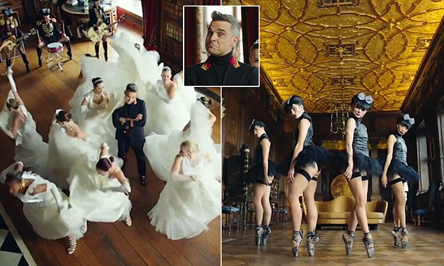 Robbie Williams accused of 'borderline racism' for song Party Like A Russian