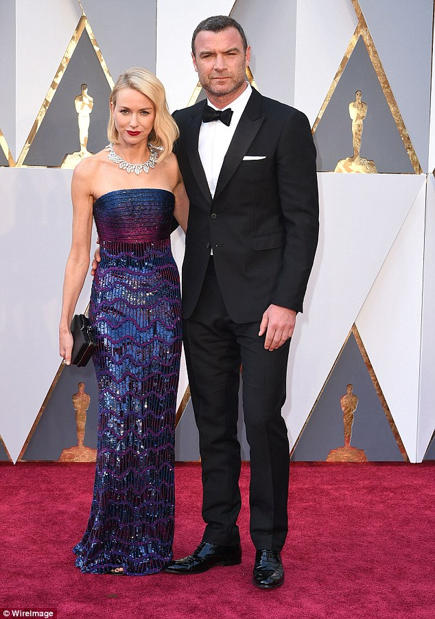 Before the break: Last Monday, the couple announced they were dissolving their 11-year romantic relationship; they are pictured here at the 2016 Academy Awards