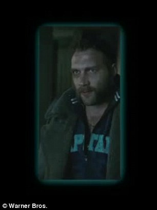 Squad: Cara Delevingne as Enchantress and Jai Courtney (Captain Boomerang) are also seen briefly in the teaser clip