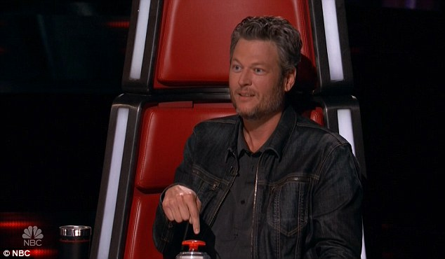 He's country too: Blake Shelton is one of the coaches on the hit show