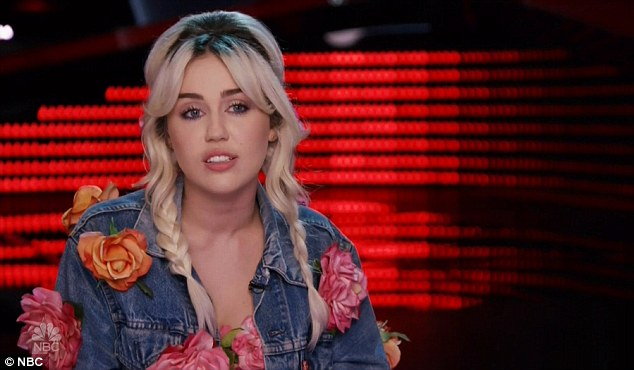 She used to be country: Miley Cyrus is one of the newer members of the team