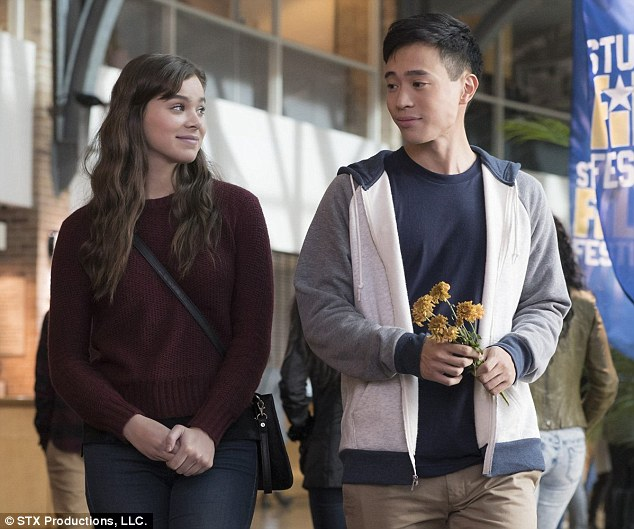 Acting with Hayden Szeto (R): The Barely Lethal starlet 'couldn't be more proud of' her role as high school junior Nadine Byrd in The Edge of Seventeen