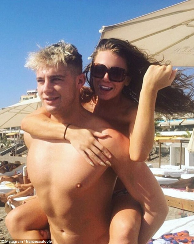 It's all over: Scotty T reveals he has been DUMPED by girlfriend Francesca Toole after hotel visit with Katie Price... a day after calling her 'the love of his life'