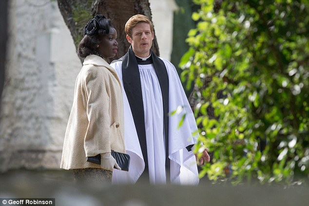 Hit show: Grantchester is a small-screen adaptation of crime-fiction book series The Grantchester Mysteries by James Runcie which debuted in 2014