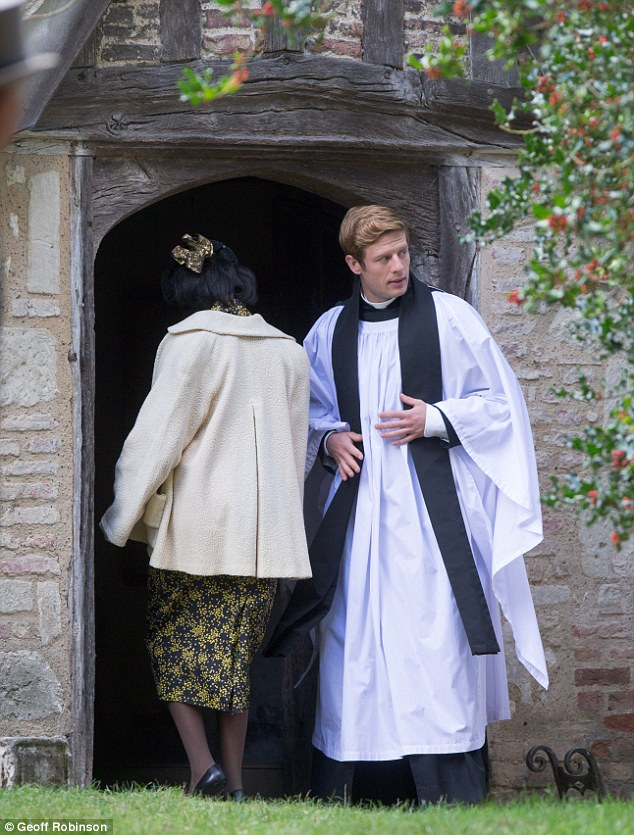 Exciting: Grantchester willbroadcast a Christmas special later this year