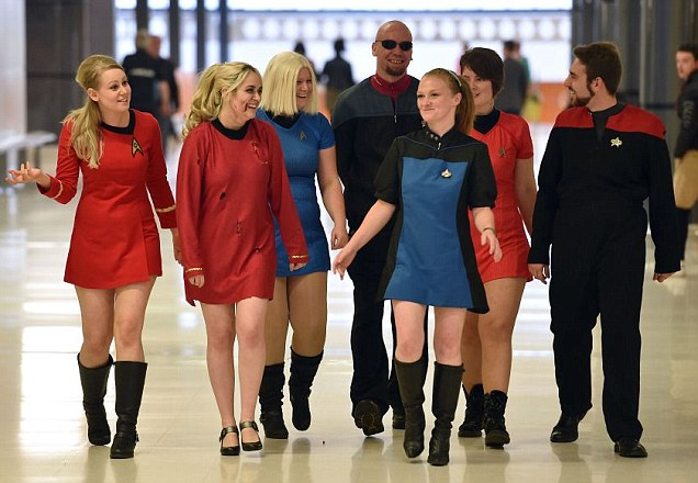 Star Trek fans descend on Birmingham for Trekkie convention