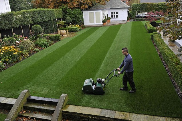 Bolton accountant scoops 'Britain's Best Lawn' title after years of trying