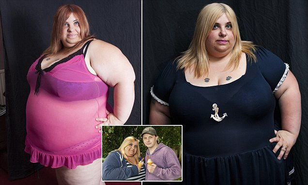 'Body positive' model says she loves being 28 stone despite doctors warning she will die