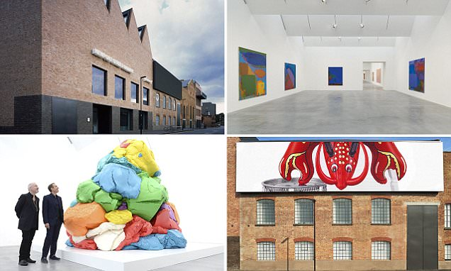 Damien Hirst's latest gallery is named best new building in Britain