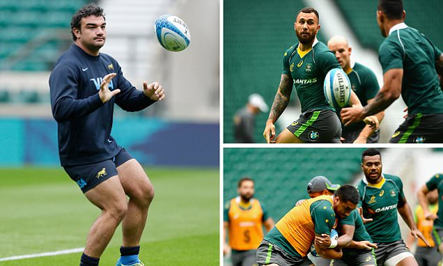 Argentina return to Twickenham to face Australia with World Cup revenge on their mind as