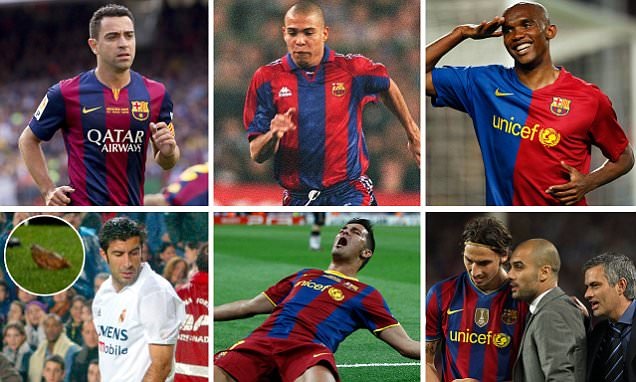 From Samuel Eto'o to Luis Figo: What happens when players leave Barcelona