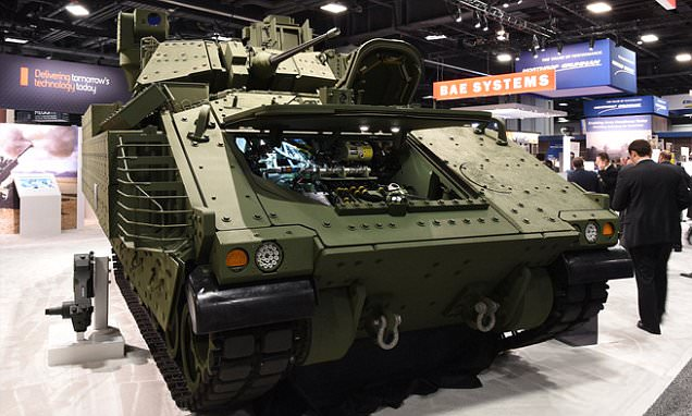 America's next tank unveiled (and it looks familiar): Bradley design first developed in