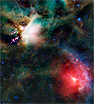A dark nebula of gas and dust, the Rho Ophiuchi cloud complex is one of the closest star-forming regions to our solar system