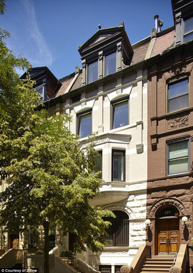 Schumer's current residence, just one block away from Central Park. The apartment is a full floor in a handsome 20ft wide turn-of the century townhouse