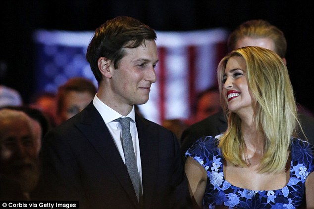 O'Donnell says in the poem that Ivanka was 'absurdly kind' and Jared had a 'calming charm', while her own voice was 'shaky' and 'quiet'