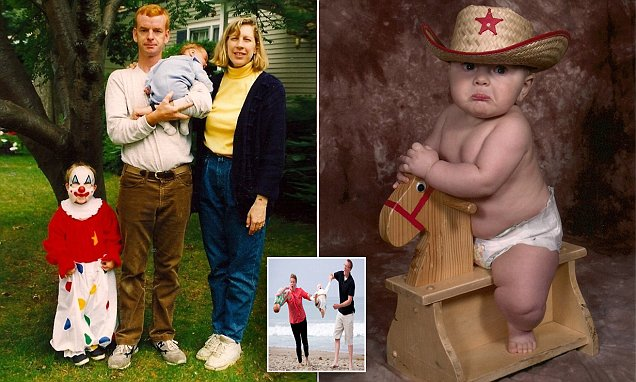 Awkward Family Photos unveil a new book of childhood snaps gone VERY wrong