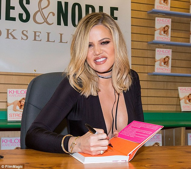 Security concerns: Khloe Kardashian, shown in November 2015 at a book signing in San Diego, has cancelled planned book signings due to security concerns