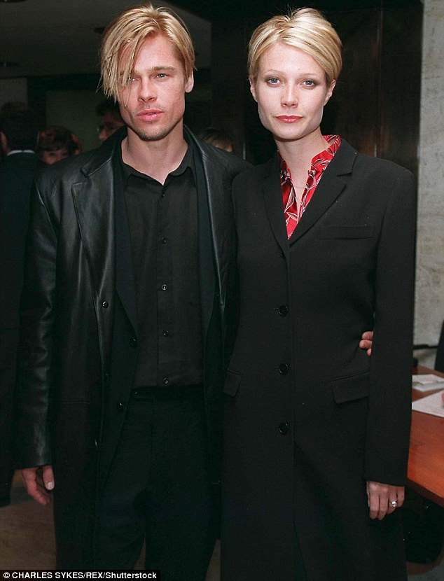 The end: The two were tabloid darlings for three years after meeting on the set of the thrilled Seven and getting engaged; here they are seen in 1997 before their split