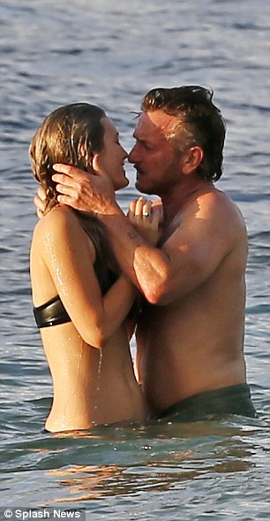 Pucker up! The 24-year-old made headlines across the globe after she was spotted kissing Sean Penn, 56, in Hawaii on Wednesday