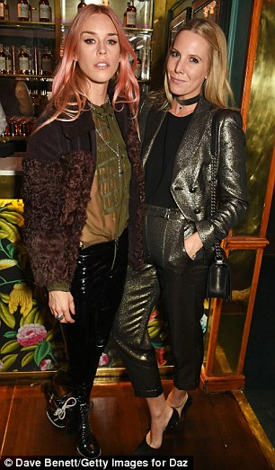 In attendance:Mary Charteris and Alice Naylor-Leyland...