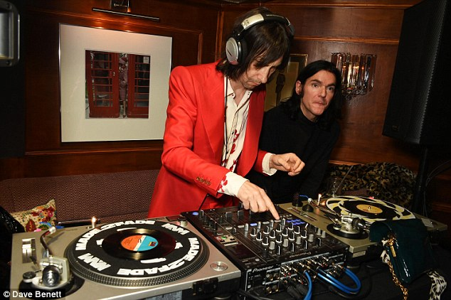 Let's get Loaded:,Primal Scream star Bobby Gillespie provided the music
